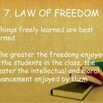 The law of Freedom